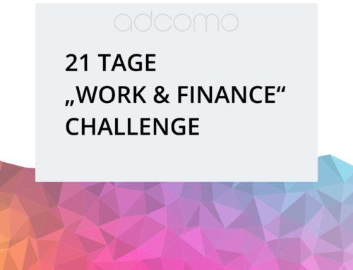 """""""work & finance"""" Challenge"""